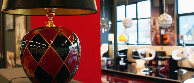 Luxuriöse Tischlampe